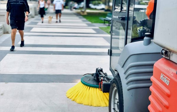 Footpath Sweepers